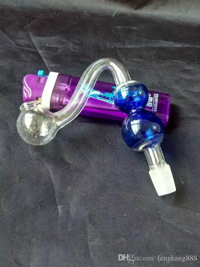 S трубы тыквы горшки стеклянные бонги аксессуары, стеклянные курительные трубки красочные мини многоцветные ручной трубы Лучшая ложка глас