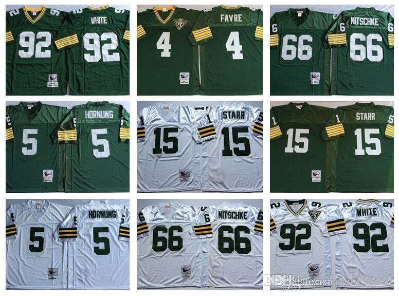 ... 66 Ray Nitschke Embroidered Throwback Football Jersey(China) See larger  image Green BaycustomPackermenyouthwomen66 ... db33e7c7c
