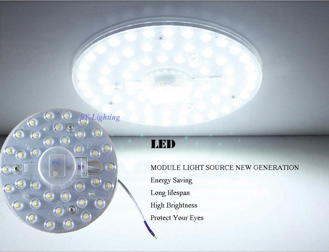 Round Pcb Board Led Module 12w 18w 24w 36w Replace Ceiling Lamp ...