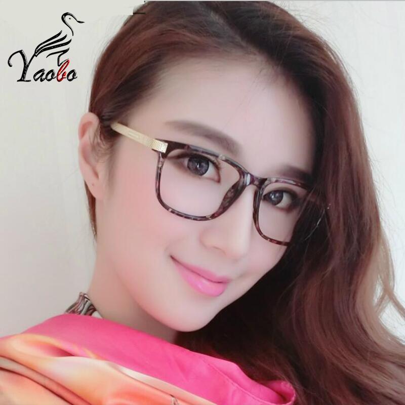 8293dbe1d0 Yaobo 2017 Women Eyeglasses Myopia Optical Computer Glasses Frame ...