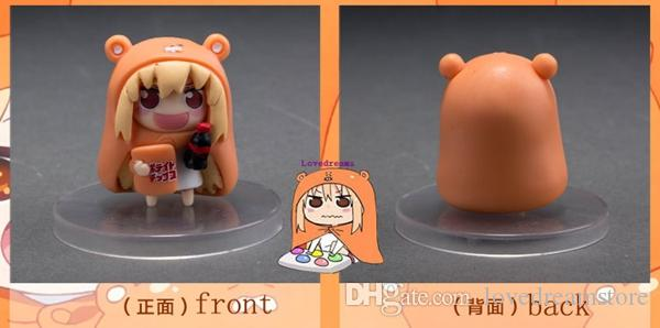Anime Sankaku Head Himouto! Umaru-chan Doma Umaru pvc figure Toys Best Kids Phone Accessories