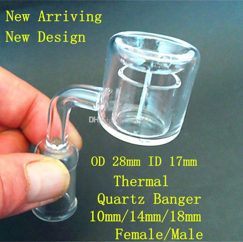 Best Quality Quartz Thermal P Banger Dab Nail Double Walls Honey ...
