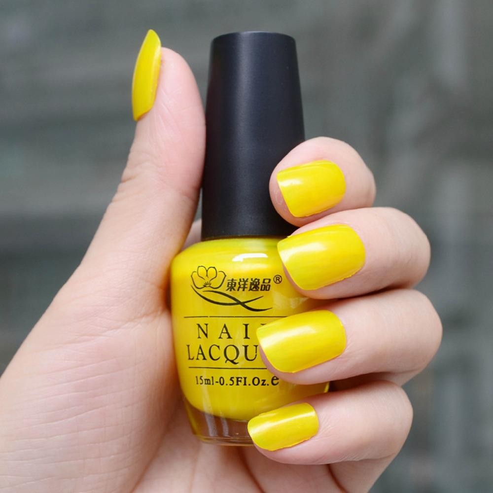 Wholesale High Quality Magic Pretty Long Lasting Yellow Color Nail ...