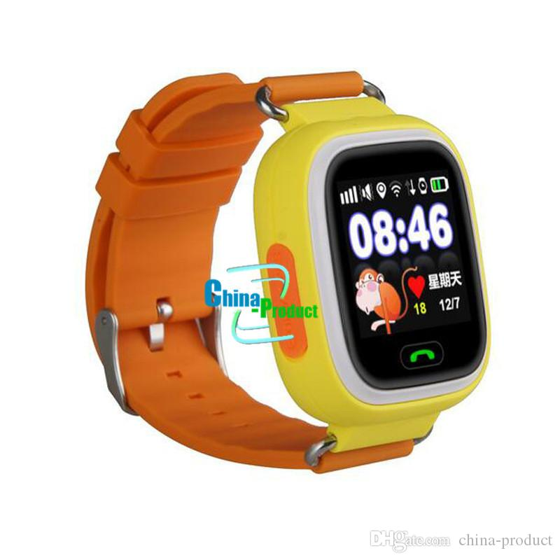 Q90 Smart Watch Child SOS Location Finder Device Tracker Kid Safe Anti Lost Monitor GPS Track Sleep Touch Screen WIFI Smartwatch