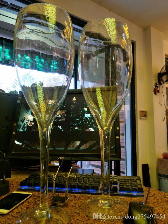 50cm creative Super large champagne glass hanap red wine goblet cup ktv big capacity beer mug drinking glasses home hotel decoration