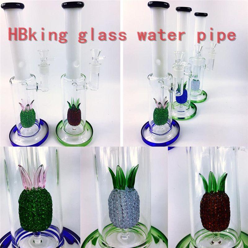 K130 trophy enjoylifeworld smoking pipe Recycler Glass Water Pipe 18mm joint perc glass bowls hitman oil rig percolator pipe hbking bongs