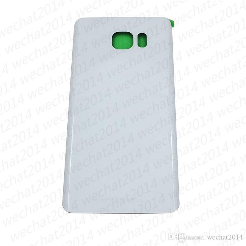 OEM coperchio della batteria coperchio della copertura posteriore della custodia Samsung Galaxy S6 bordo G920P S6 Plus G925P G928P Nota 5 N920P con adesivo
