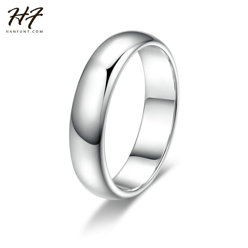 see larger image - Classic Wedding Rings