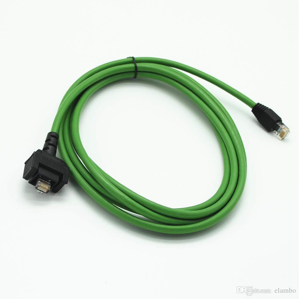 For benz MB star C4 SD CONNECT COMPACT 4 C4 Star Diagnosis car truck tool lan cable 5meter wifi lan cable