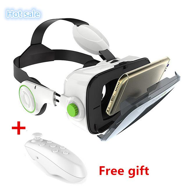 a5f6327a2774 Wholesale- BOBOVR Z4 3D VR Glasses Virtual Reality Headset Cardboard ...