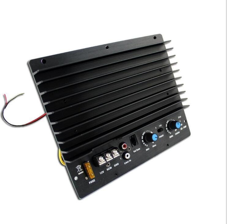 Freeshipping 200W high car amp power 12V car amplifier in active subwoofer amplifier single gun road car subwoofer amplifier board