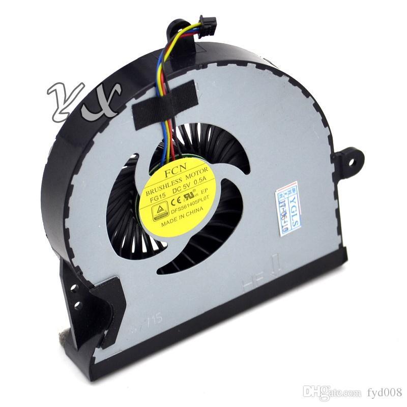 Nuevo ventilador de refrigeración original de la CPU para Asus ROG G751 JY G751ROG G751JT G751JZ G751JL G751JM G751JY KSB0612Hba02 13NB06F1P10011