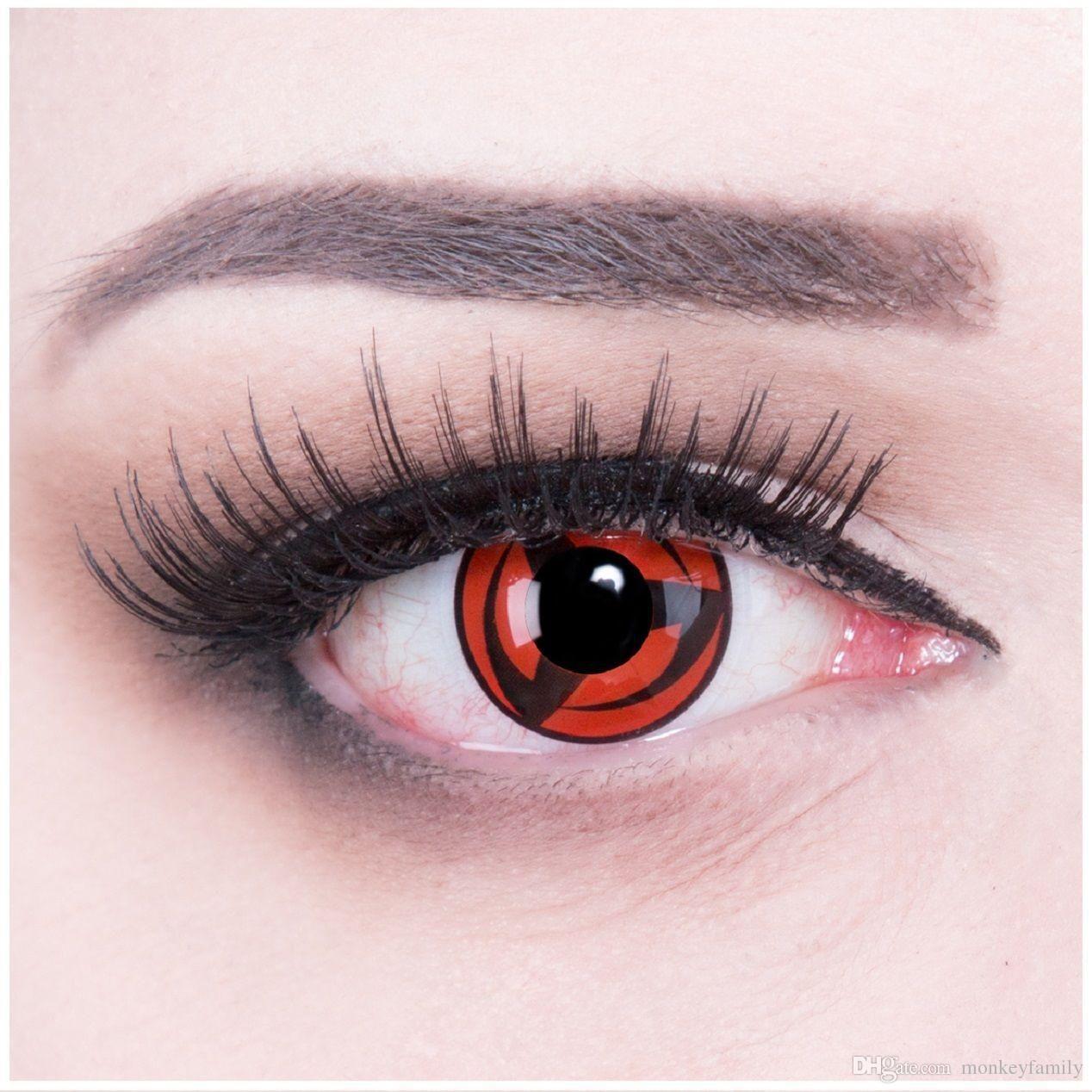 Halloween Coloured Contact Lenses Sharingan Kakashi Contacts Color ...