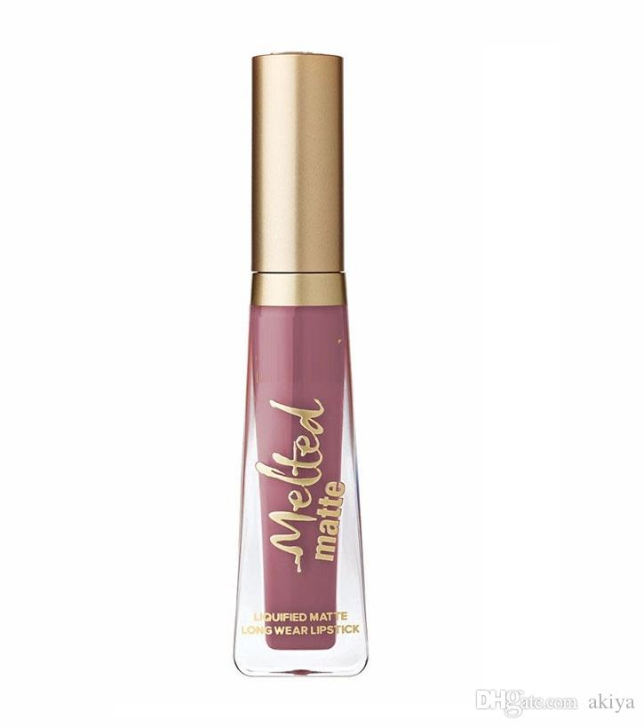 Factory Direct! Newest Cosmetics melted Matte Lipstick Lip Gloss DHL
