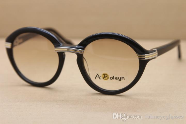 2020 핫 선글라스 1991 원본 라운드 판자 안경 1,125,072 패션 선글라스 망 태양은 C 장식의 골드 프레임 사이즈 안경 : 52-22-135mm