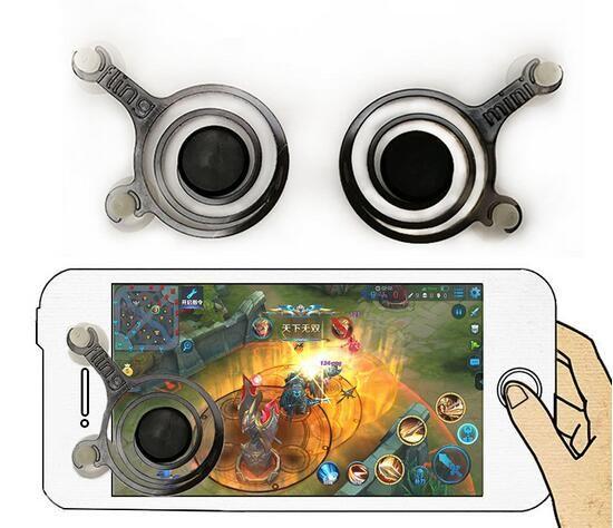 Mini Joystick Celular Çifti Akıllı Cep Cep Telefonu Tablet Oyunları için Arcade Oyun Kontrolörü Oyun Aksesuarları