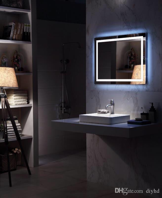 mega sensor bathroom illuminated mirror jamie civis switch modern backlit slimline creators collections led light with lighted store supply large mirrors x