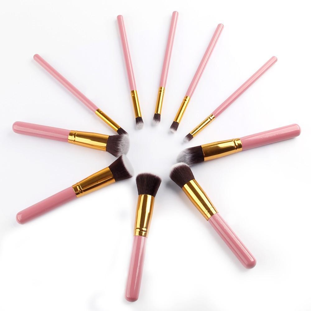 5 Ensembles Pinceaux De Maquillage Outils Ensembles Maquillage Pinceaux Set Professionnel Portable Plein Pinceau Cosmétique Pinceau À Paupières Brosse À Lèvres