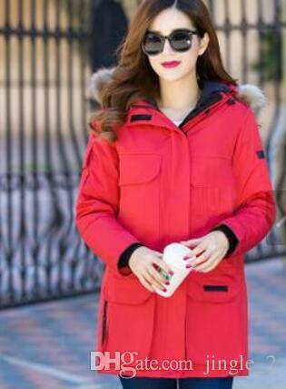 Best 2017 New Arrival Top Copy Brand Women S Chilliwack Bomber Parka Jacket  Winter With Hoodie Fur Arctic Coat Cheap Outlet Factory Under  110.56  f433ebfa72