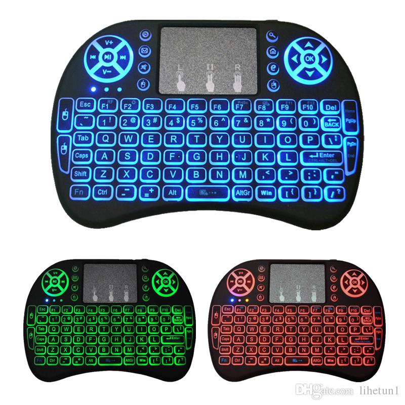 Mini I8 Keyboard Backlit English For Android Tv Box Remote Control