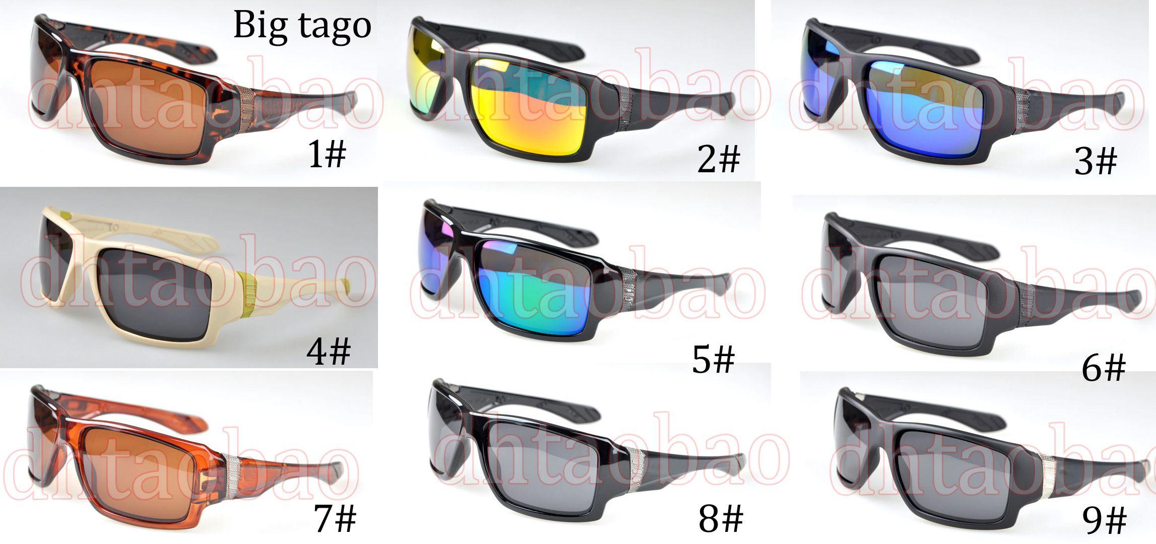 b7d7b5bca368a Compre Moq   De Alta Qualidade Unisex Classics Square Goggle Polarized  Óculos De Sol + Estojo Outdoor Driving Beach Ciclismo Óculos 6 Cores Frete  Grátis De ...