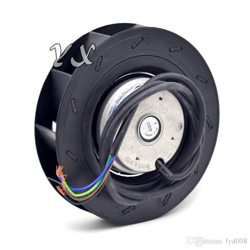 NOUVEAU ventilateur centrifuge à disque 180 YWF.B2S-180 220V 0.26A ventilateur 54W ventilateur centrifuge en plastique à turbine 180 * 65mm