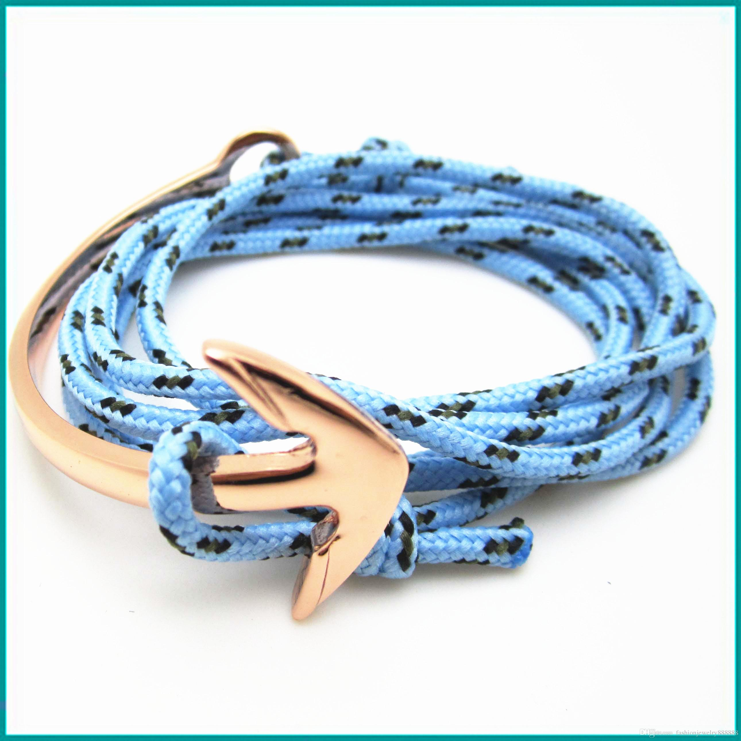 Bracelets 2017 New Arrival Fashion Jewelry Nylon Rope Bracelet Men