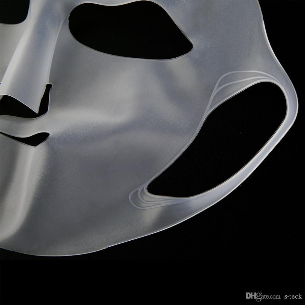 Силиконовое повторное использование Водонепроницаемая красота Лицо Увлажняющая маска для крышки маски листа