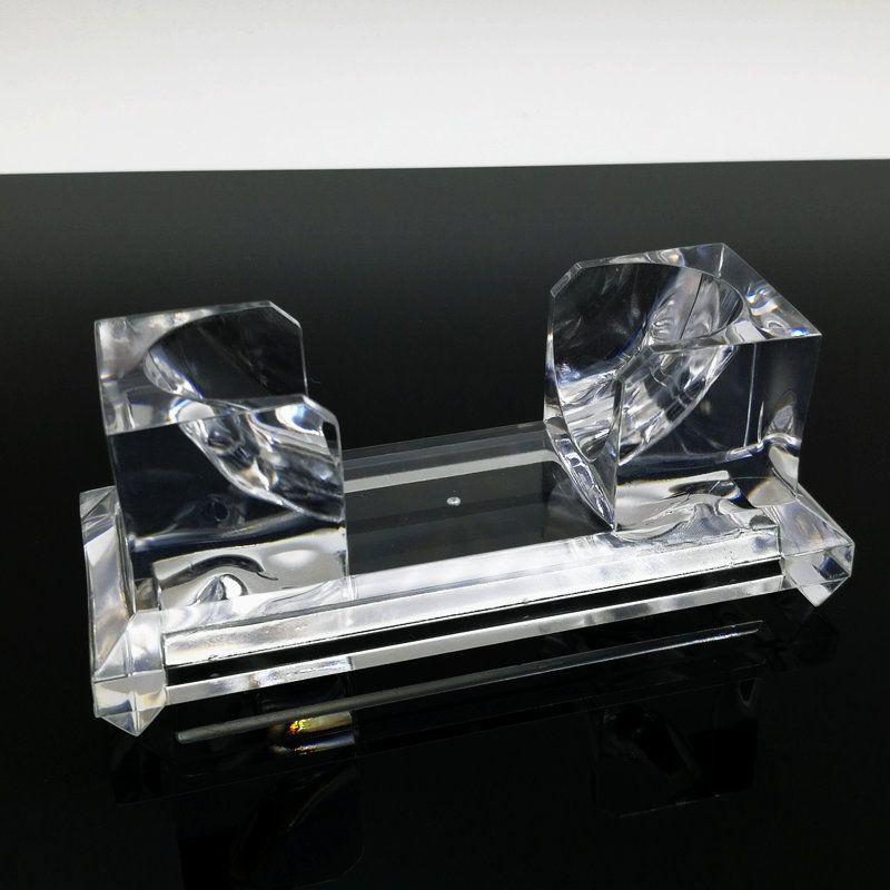 geben Verschiffen 95 * 40 * 35 Millimeter Acrylarmbandarmband-Ausstellungsstand, Art und Weiseschmucksachenanzeige frei