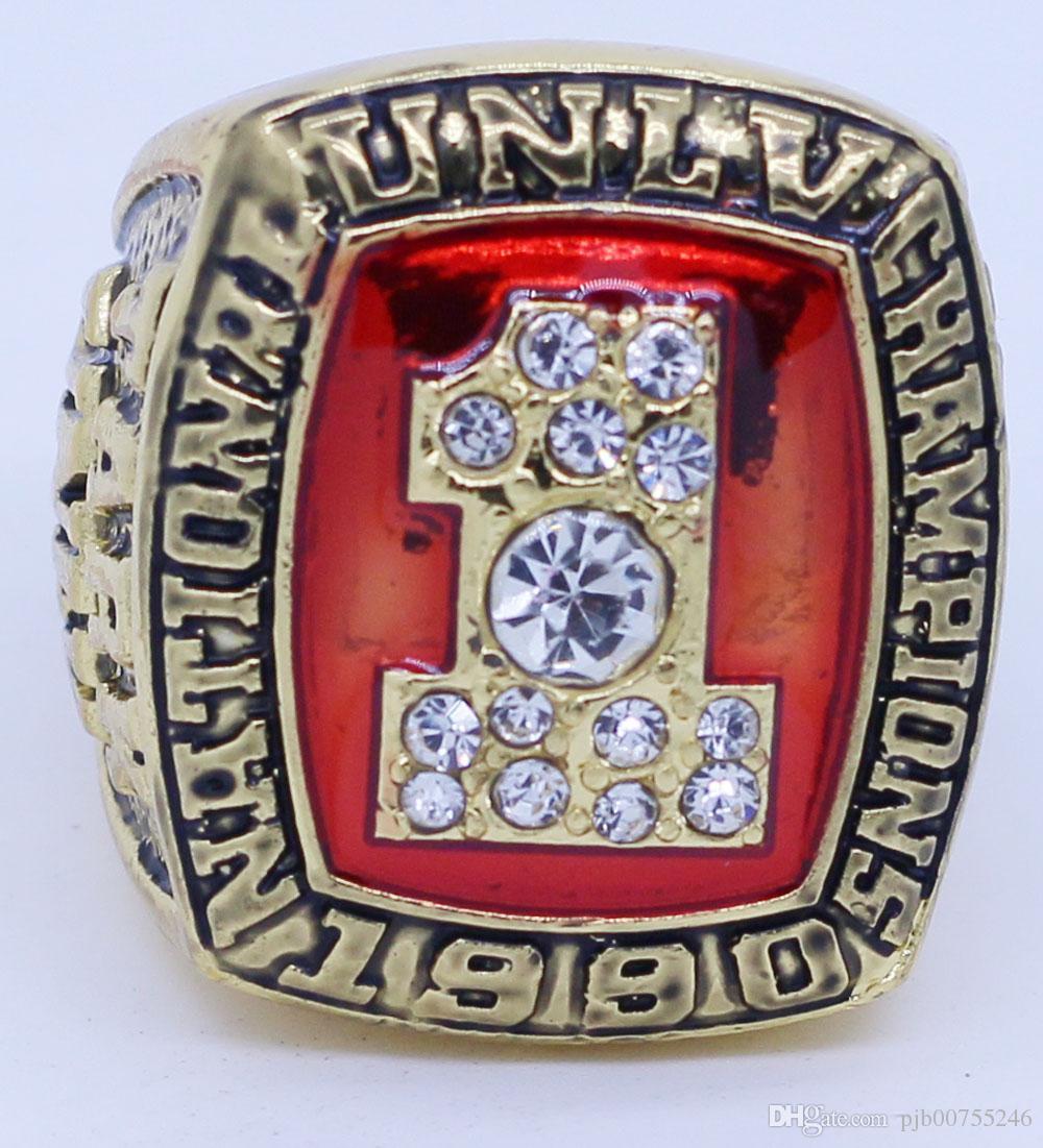 e59783be 2019 Custom UNLV 1990 TARK Champion Rings From Pjb00755246, $9.11    DHgate.Com