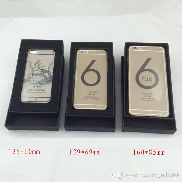 Cellphone Package Boxes For iphone Xs Max Xr 7 8 plus 6 6s plus Paper Box Univesal Mobile Phone Kraft Paper Packing Box Free DHL 259