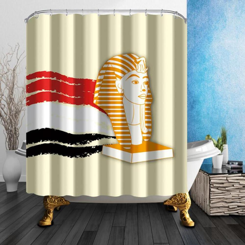 2018 180180cm High Quality Shower Curtains Waterproof Polyester Fabric Home Decoration Mildew Resistant Room Hanging Cheap From Party8