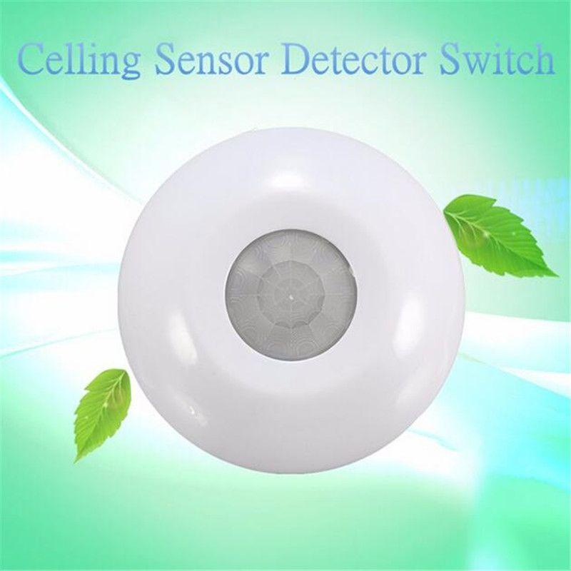 360 Degree Infrared Ceiling Human Body Induction Light Switch PIR Motion Sensor Detector Sensors AC 110V-250V