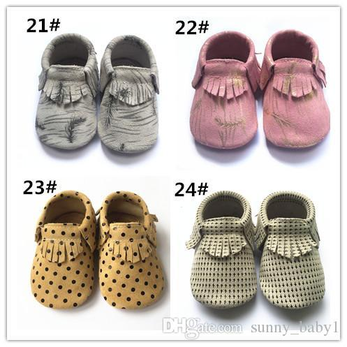 2017 new baby fringe moccs,top quality genuine leather soft sole shoes,gold dot skull leopard moccasins,multi-colours cow leather moccs shoe