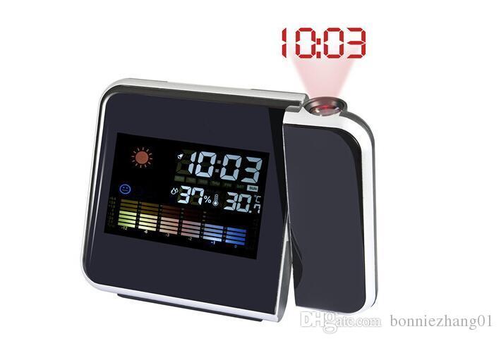 الجديدة داخلي رطوبة ميزان الحرارة المنبه LCD العرض الرقمية الرطوبة درجة الحرارة متر 0 محطة ~ 50C الطقس Termometro