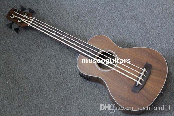 30 Concert Ukulele Bass Mini Acoustic Uke Handcraft Solid