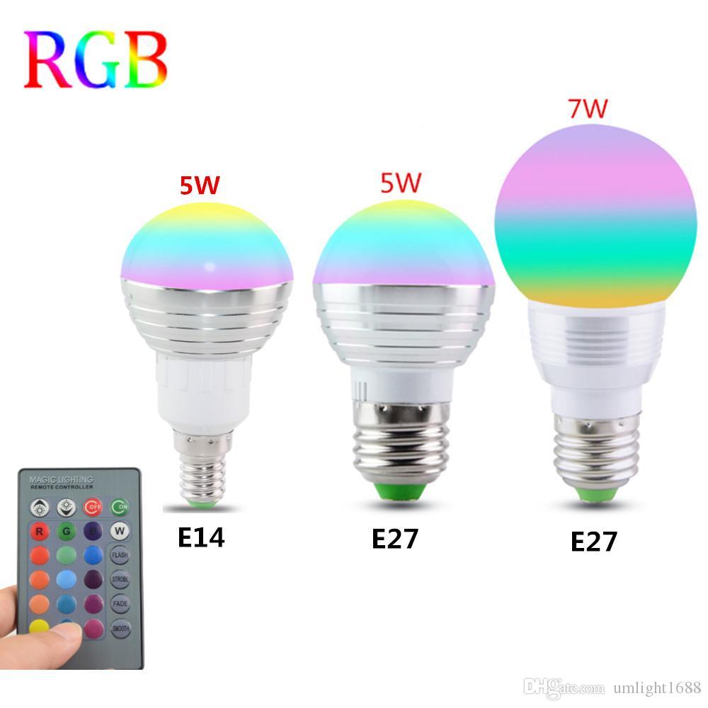 Best rgb led bulb e27 e14 5w 7w led lamp light led spotlight spot rgb led bulb e27 e14 5w 7w led lamp light led spotlight spot light 16 color parisarafo Image collections