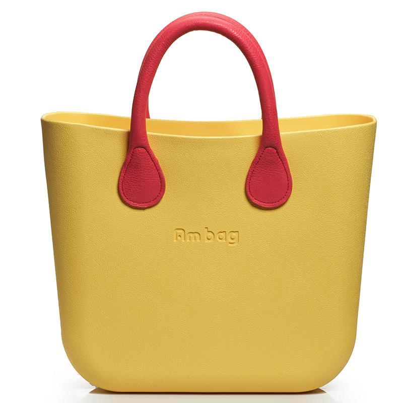 2016 Beach Bags Red Handle Women Large Bag Ambag Obag Handles ...