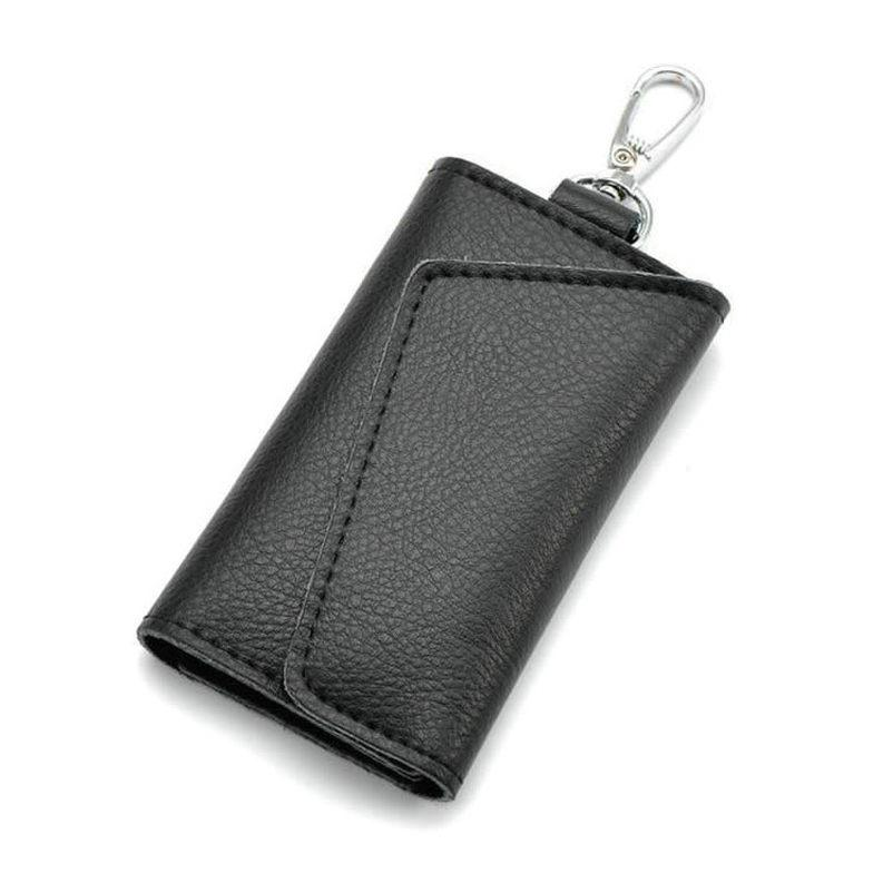 Wholesale- Business Card Holder Wallet 100% Genuine Leather Key ...