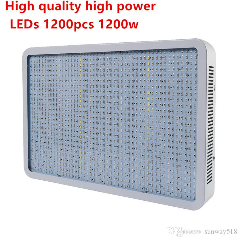 Spettro completo 1200W SMD 986Red: 136Blue: 8UV: 8IR: 32White: 32Warm Greenhouse LED Coltiva la luce Hydroponics Garden Plant Lamp