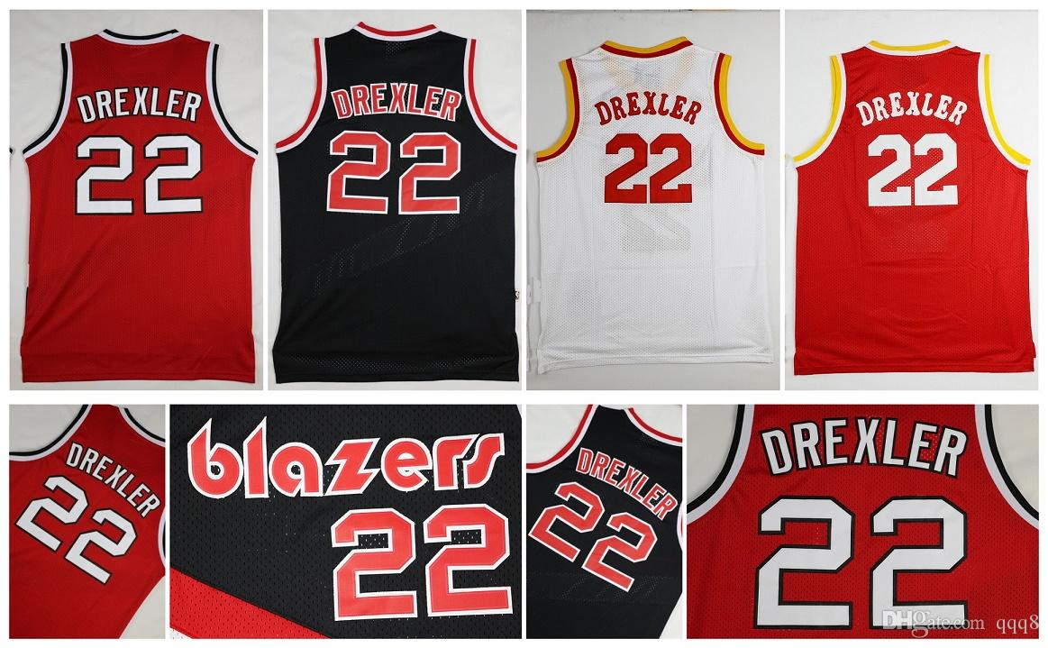 ae831ef4e294 ... sweden swingman white jersey 2017 retro 22 clyde drexler jersey sports  throwback basketball jerseys red white release date portland trail blazers  ...
