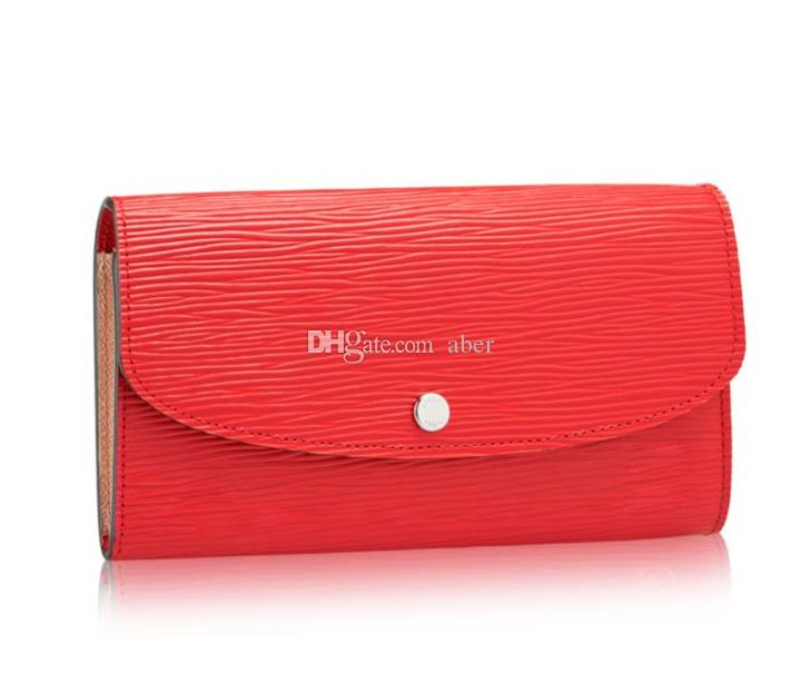 83ce50b6300b Brand New Many Colors Emilie Wallet Damier Azur Rose Ballerine Clutch HOT  PINK Emily Red Long Bifold Wallet N41625 Leather Wallets For Women  Crocodile ...