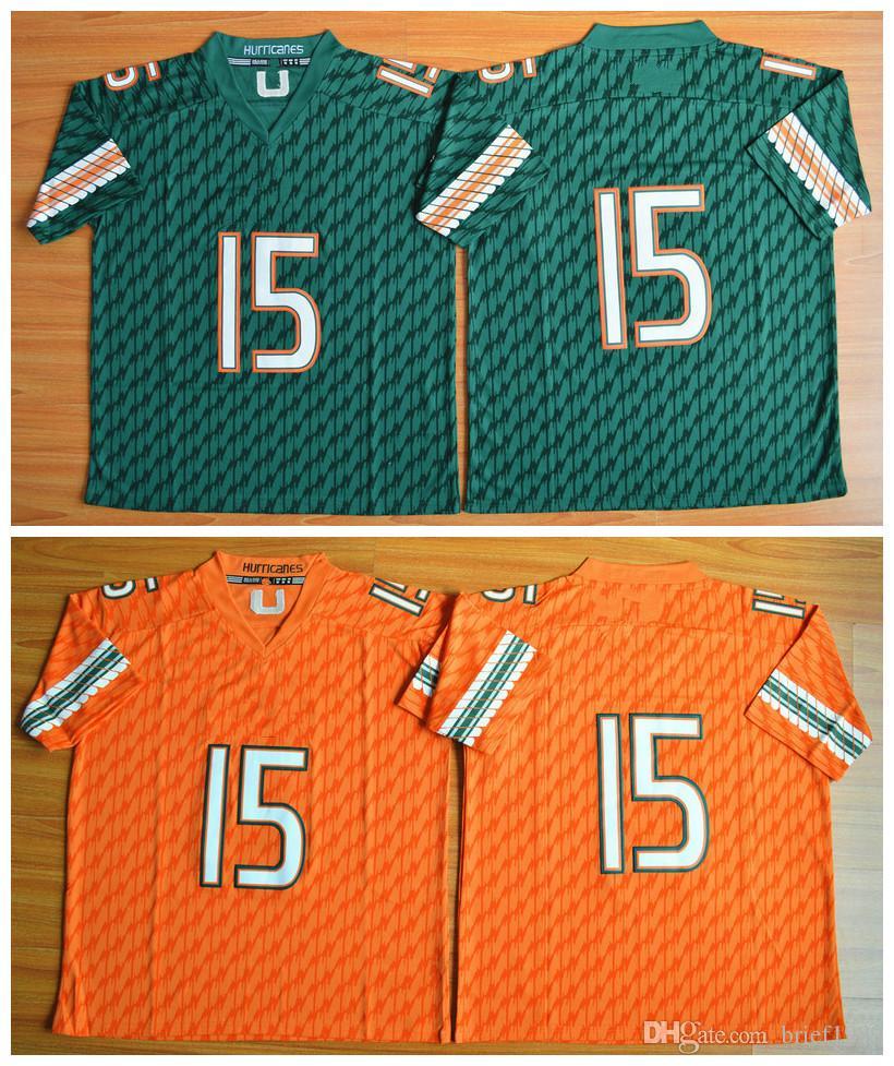 new styles 3a37f 255e6 miami hurricanes jerseys 13
