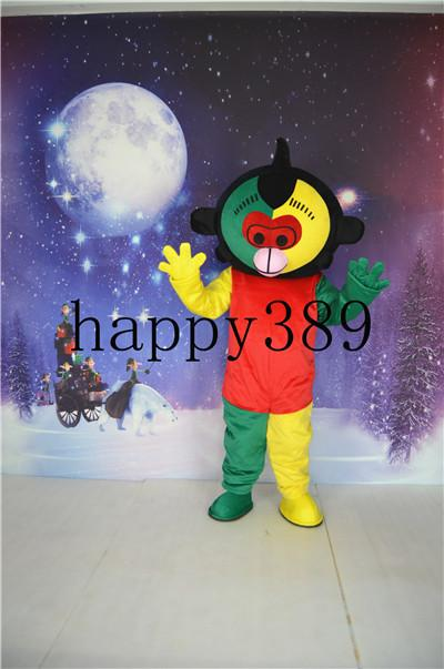 2017 Mascot Costume Monkey Serene Mirage Costume Direct support for private custom Halloween