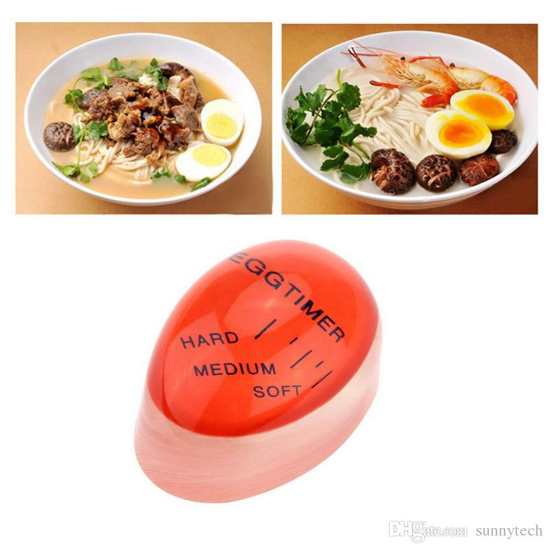 Creative Egg Timer Kitchen Supplies Perfect Color Changing Perfect Boiled Eggs Cooking Helper Yummy Soft for kitchen S2017354