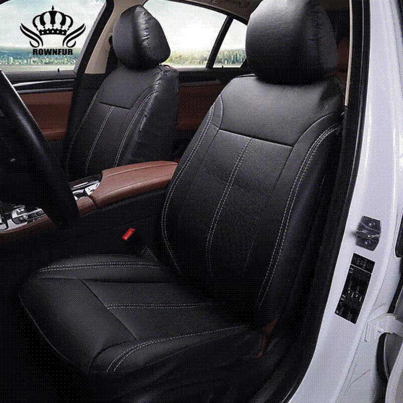 2017New Luxury PU Leather Auto Universal Car Seat Covers Automobile Cover For Peugeot 206 Lifan X60 Lada Kalina Suzuki Winter Zebra