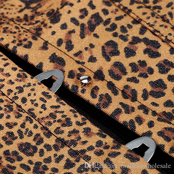 Wholesale Overbust Leopard Corset New Fashion Women Corselet Tops Boned Bustier Sexy Lingerie Tummy Corsets Wear Out Casual Clothing 0861