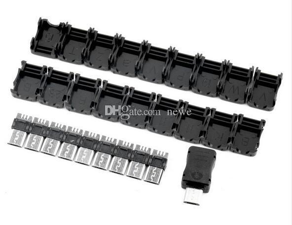 Connettori cavi computer Connettore a innesto connettore maschio Micro USB 5 pin T Porta spina maschio