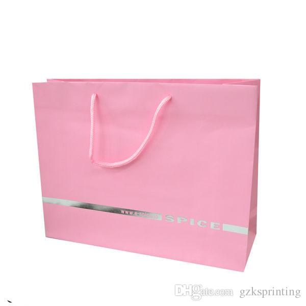 gift bags customized printed in high quality paper bags with handles