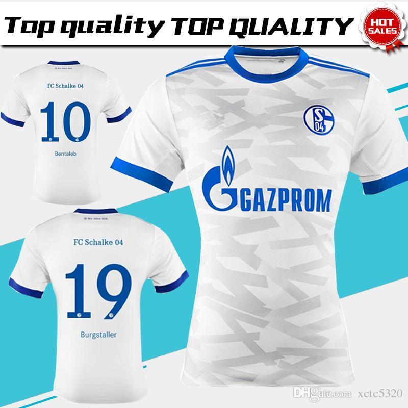 Nuevo Schalke 04 Home Blanco Jersey De Fútbol 17/18 Schalke 04 Manga ...
